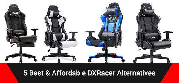5 best dxracer alternatives knockoff